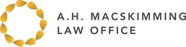 A. H. MacSkimming Law